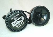 Frequency 6,000-40.000 Hz 2 Two Super Tweeters XO Vision TX350 350W Max 40mm