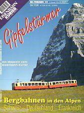 Eisenbahn Kurier EK Themen Heft 15 Gipfelstürmer Bergbahnen Alpen D CH F