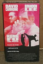 Kung Fu the Movie (VHS) NEW Brandon Lee