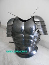 JACKET BLACK FINISH W/SHOULDERS ARMOURY GIFT FOR ANTIQUE COLLECTORS