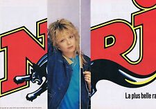 Publicité Advertising 016 1989 NRJ avec France Gall   (2 pages)