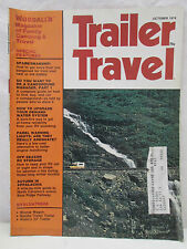 Trailer Travel Magazine Woodall's Family Camping October 1974 Blue Ridge Parkway