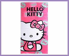 Neuf hello kitty imprimé serviette de plage