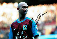 Stephen IRELAND Signed 12x8 Photo AFTAL COA Autograph Aston VILLA