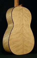 FLAMENCO SPANISH GUITAR JUAN MONTES. BIRDSEYE MAPLE. GUITARRA FLAMENCA.HARD CASE