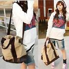 Vintage Backpack Fashion Women Men Shoulder Bag #S Canvas Travel Carry Tote