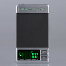 Mini Digital Scale 100g x 0.01g Herb Jewelry Gold Silver Coin Gram Pocket LCD