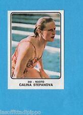 CAMPIONI dello SPORT 1973/74-Figurina n.242- STEPANOVA - NUOTO -Rec