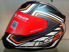 LS2 Helmets-FF352- Ranger Black Orange - Full Face Imported Motorcycle Helmet-XL