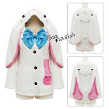 MIKU Cute Style Women Lady White Vogue Full Set Style Anime Cosplay Costume Gift
