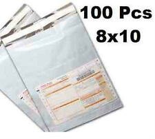 Tamper Proof Plastic Courier Bag with POD 100 Pcs 8x10 inch