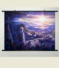 Anime Mushishi Ginko Manga Home Decor Japanese Poster Wall Scroll New 013