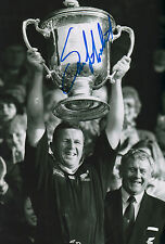 "Sean Fitzpatrick ""Rugby All Blacks"" signed 8x12 inch photo autograph"