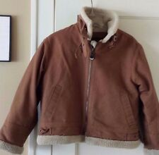 Children's Winter Coat Size Small 8-10 South PoleTan and Beige