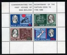 New Zealand MNH 1969 The 200th Anniversary of Captain Cook's Landing M/S