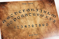 Clasic wooden style Ouija Spirit Board game & Planchette with instruction EVP