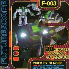 DJ Noise - Futurescope F-003 - CD MIXED - HARD TRANCE ACID