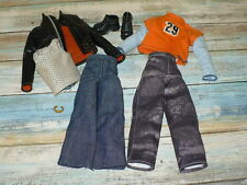 Mattel Barbie Doll MY SCENE BOY 8 pc KEN CLOTHING LOT Shoes Clothes Jewelry