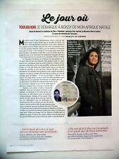 COUPURE DE PRESSE-CLIPPING : Toulou KIKI Le jour où  06/2016 Timbuktu