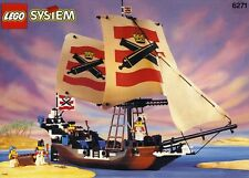 Lego 6271 IMPERIAL FLAGSHIP Vintage Pirate Ship Working Compass NICE