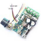 PWM Speed Controller Drehzahlregler Regler 12V 24V 36V 48V 60V 1200W 20A DC Moto