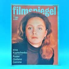 DDR Filmspiegel 1/1985 Giuliano Gemma Florin Piersic Steven Spielberg R. Hoppe C