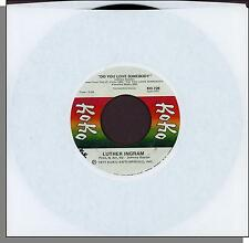 """Luther Ingram - Do You Love Somebody + How I Miss My Baby - 7"""" 45 RPM Single!"""