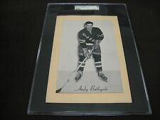 RARE 1945-64 BEEHIVE GROUP 2 RANGERS ANDY BATHGATE SGC GRADED