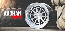 18X9.5 +30 AODHAN AH04 5X114.3 SILVER WHEEL FIT LEXUS IS250 IS300 GS400 CONCAVE