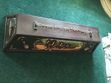 Vintage Wood Budweiser Clydesdales pool table light - See Details