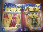 Earth's Mightiest Heroes Avengers: Scarlet Witch and Loki NIB Toy Biz