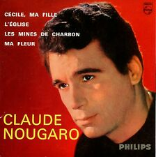 ★☆★ CD SINGLE Claude NOUGARO - Michel LEGRAND  Cécile ma fille 4-track   ★☆★