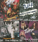 "TUFF ""What Comes Around"" 4 DVD SET Stevie Rachelle signs2U Poison Crue Ratt Glam"