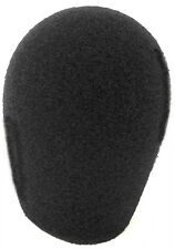 "Audio Technica AT804 Microphone Windscreen Black Foam from WindTech 1""ID 5066"