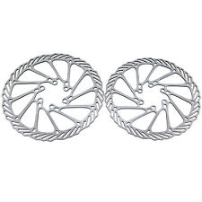 2Pcs Bike Bicycle Cycling Clean Sweep Disc Brake Rotors 160mm G3 Stainless Steel
