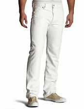 New Levi's Mens 501 1014 Button Fly Straight Painter White Denim Jeans 36 X 34