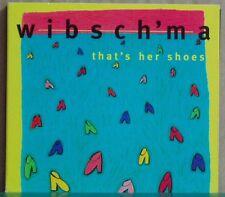 CD Wibsch'ma That's her shoes Extraplatte Digipack 1999  Annette Giesriegl...rar