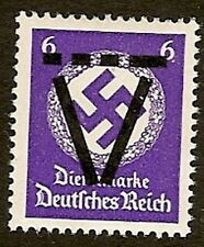 Germany 1945, French Occup. Zone  Saulgau  6 Pfg.  HR