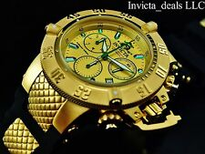 Invicta Men's 50mm Subaqua Noma III Swiss Chronograph 18K Gold Plated SS Watch