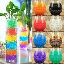 24 Bags Water Beads Aqua Gems BioGel Balls Crystal Soil Wedding Vase decoration