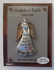 k May angels watch over us Angel swivel car VISOR ornament CLIP Ganz