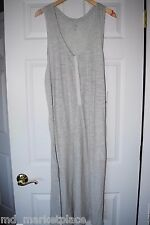 NWT Banana Republic Sunday Womens Knit Lounge Pajama PJs Nightgown Dress Gray M
