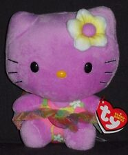 TY HELLO KITTY PURPLE BEANIE BABY - MINT with MINT TAG