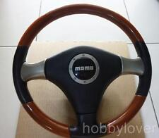 JDM MOMO Daihatsu Avy Passo Boone wood leather steering wheel