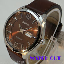 BRAND NEW SEIKO RECRAFT VINTAGE CLASSIC AUTOMATIC SNKN49 STAINLESS STEEL WATCH