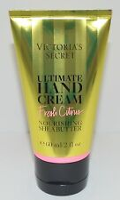 VICTORIA'S SECRET FRESH CITRUS ULTIMATE HAND CREAM BODY LOTION 2 OZ SHEA BUTTER