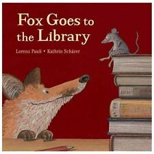 Fox in the Library by Lorenz Pauli (2013, Hardcover)