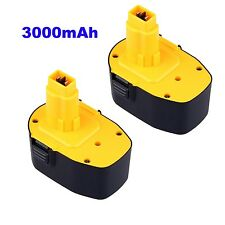 2PCS 3.0AH Battery for DEWALT 14V 14.4 VOLT Cordless Power Tool