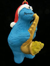 Cookie Monster Sax Player Musician Christmas Ornament New Sesame Street Muppets
