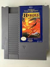 FCI's Advanced Dungeons & Dragons Video Game, Heroes Of The Lance For NES Tested